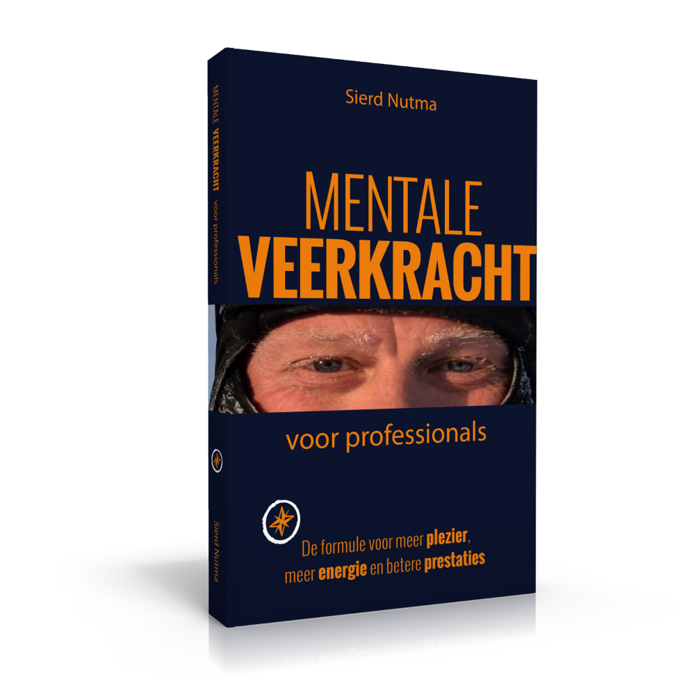 Het boek Mentale Veerkracht voor Professionals geschreven door Sierd Nutma